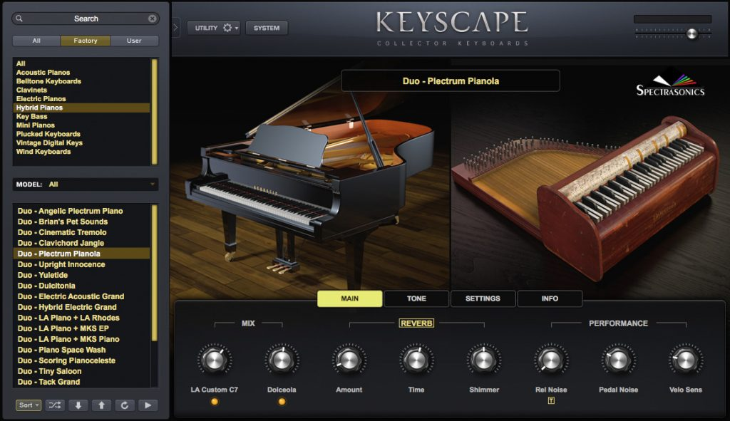 Spectrasonics Keyscape For MacOS Latest Version 2020 Free Download