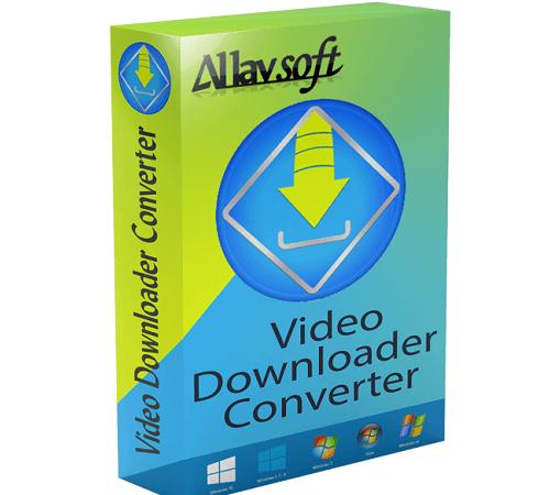 Allavsoft Video Downloader Converter Crack 3.23.4 Latest [2021]