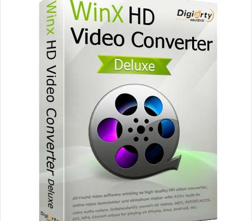WinX HD Video Converter Deluxe Crack 5.16.0.331 [2021]